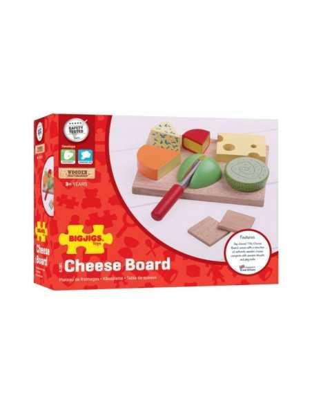 Bigjigs Toys Cheese Board Set Bigjigs Toys