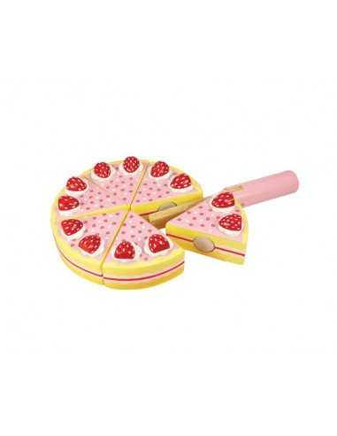 Bigjigs Toys Strawberry Party Cake