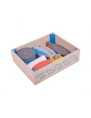 Bigjigs Toys Seafood Crate