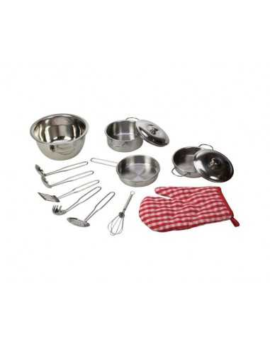 Bigjigs Toys Stainless Steel...