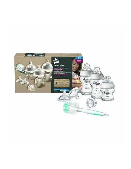 Tommee Tippee Closer to Nature Glass Bottles Starter Kit Tommee Tippee