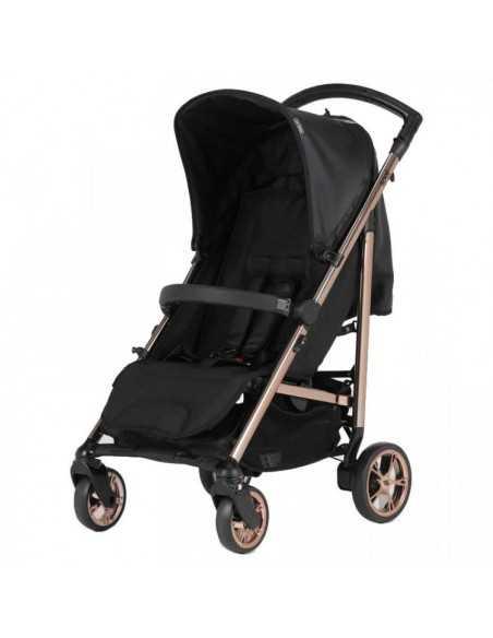 Bebecar Spot Compact Pushchair With Raincover-Black (011) Bebecar