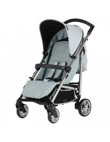 Bebecar Spot Compact Pushchair With Raincover-Blue (113) Bebecar