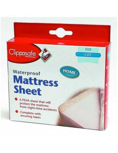 Clippasafe Home Waterproof Sheet Cot...
