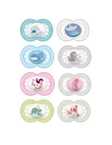 MAM Soother Nature 6+ Months x2-Assorted