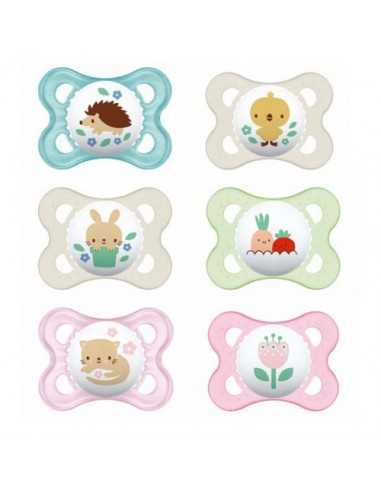 MAM Soother Nature 0+ Month x2