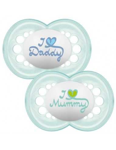 MAM Soother Style 6+ Months x2-Boys