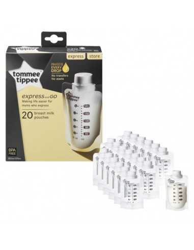 Tommee Tippee Express & Go Pouches 20...
