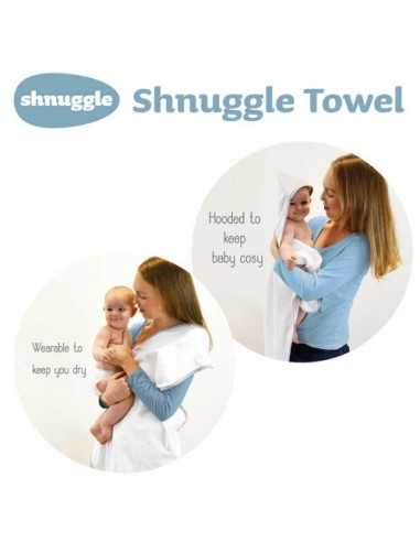Shnuggle Hooded Wrap Towel