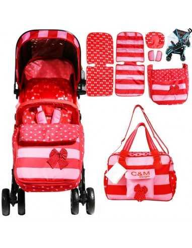 Isafe Optimum Baby Stroller Bundle...