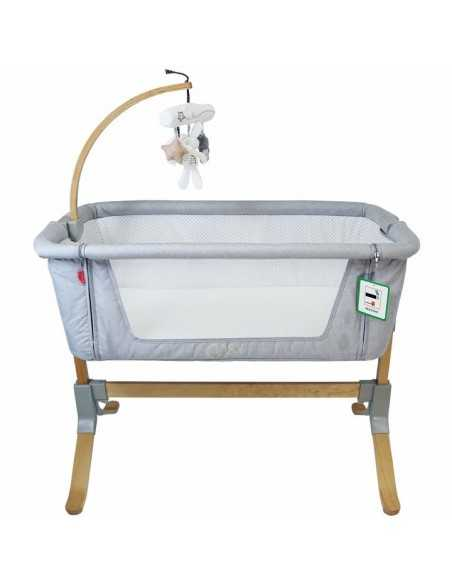 iVogue 7 Piece Bundle 3in1 Pram, Bedside Crib, Highchair, Nursing Pillow, Baby Bath-Grey iVogue