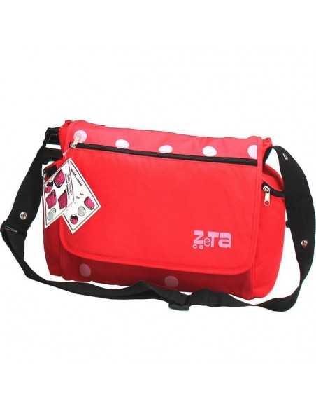 Zeta Red Stroller + Travel Bag + Changing Bag + Console + Sunshade + Liner Zeta