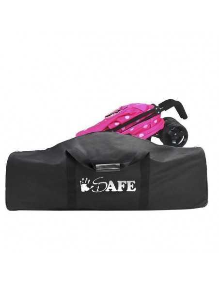 Zeta Black Dots Stroller + Travel Bag + Changing Bag + Console + Sunshade + Liner Zeta
