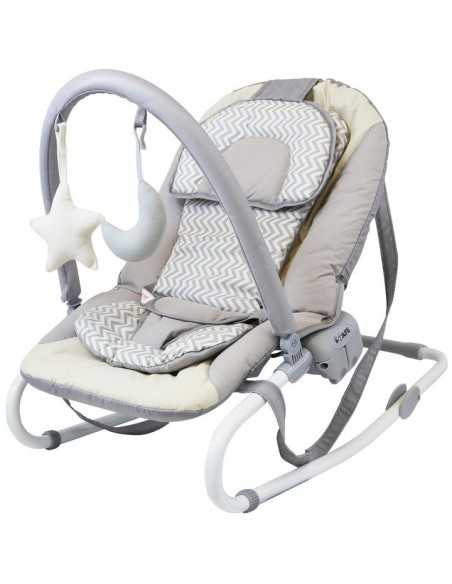 Isafe Starter Bundle Walker Rocker Baby Bouncer (Chevron) Highchair-Chevron Isafe