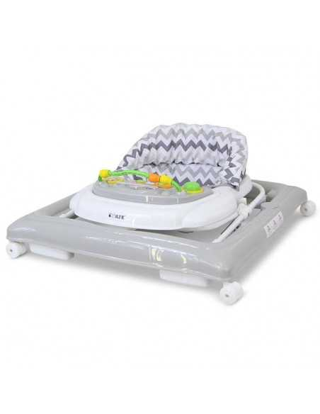 Isafe Matching Starter Bundle Baby Walker & Highchair-Chevron Isafe