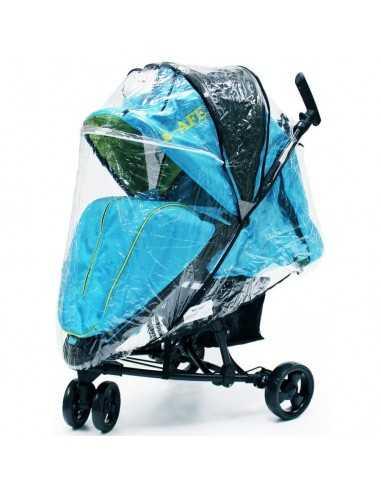 Baby Travel Visual 3 Raincover Pramette