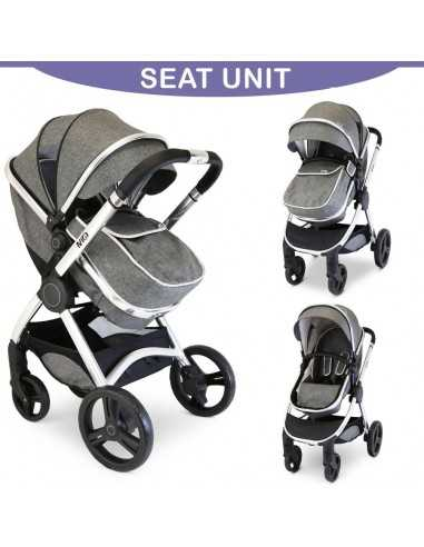 Isafe Mio All In One 3in1 Pram...