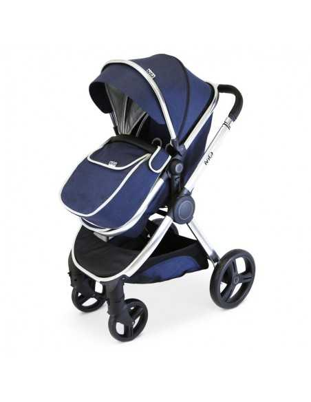 Isafe Mio All In One 3in1 Pram System-Blueberry Isafe