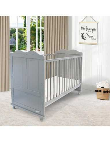 iSafe Baby Cot Bed Toddler Bed-Adam...