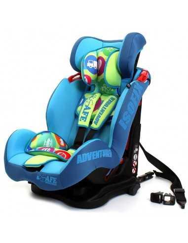 Isafe Car Seat Group 1-2-3 Adventurer...