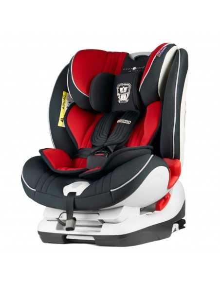 Cozy N Safe Arthur Group 0+/1/2/3 Car Seat-Red Cozy N Safe
