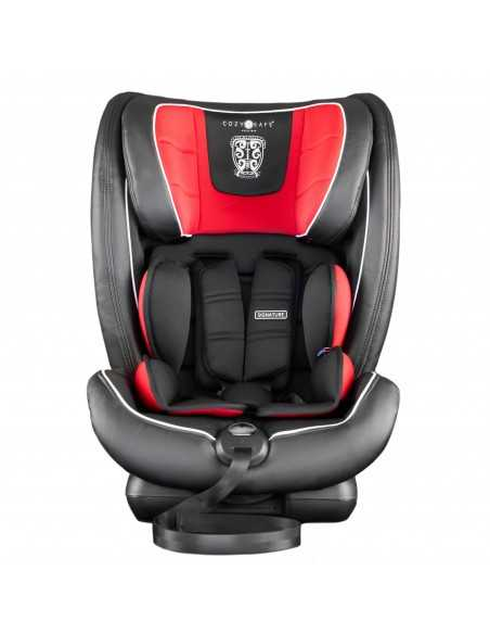Cozy N Safe Excalibur Group 1/2/3 Harness Car Seat-Black/Red Cozy N Safe
