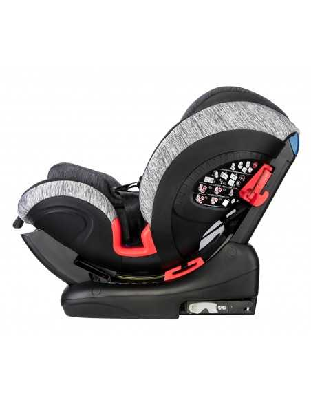Cozy N Safe Arthur Group 0+/1/2/3 Car Seat-Black/Grey Cozy N Safe