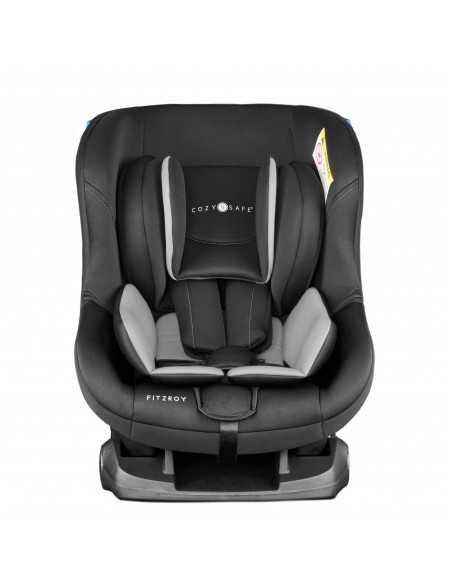 Cozy N Safe Fitzroy Group 0+/1 Car Seat-Black/Grey Cozy N Safe