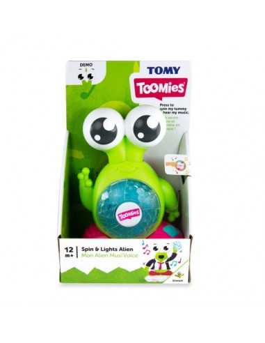 Tomy Toomies Spin And Lights Alien