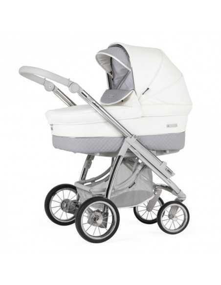 Bebecar Ip-Op Classic XL + Car Seat, LA3 Kit Travel System Pack-Dove Grey (007) Bebecar