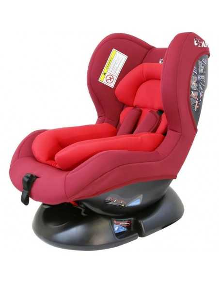 Isafe Maxus Baby Car Seat Group 0+1 (CS002)-Red Isafe