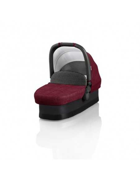 Junior Jones Luxury J-Carbon Carrycot-Persian Red Junior Jones