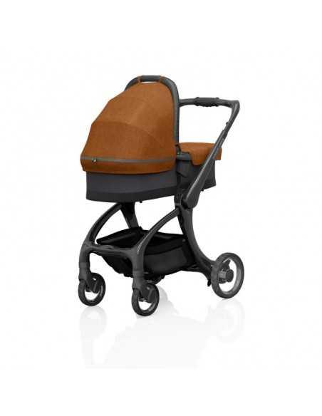 Junior Jones Luxury J-Carbon Carrycot-Bombay Rust Junior Jones