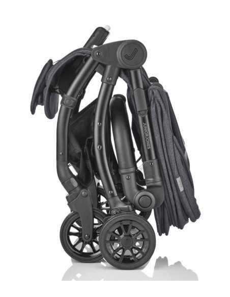 Junior Jones J Cub Compact Stroller-Graphite Black Junior Jones