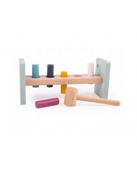 Bigjigs Toys 00% FSC® Certified Hammer Bench Bigjigs Toys