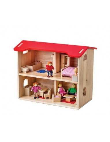 Bigjigs Toys Dolls House Complete