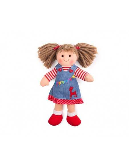 Bigjigs Toys Hattie Doll - Small Bigjigs Toys