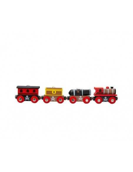Bigjigs Rail Pirate Train Bigjigs Toys
