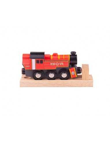 Bigjigs Rail Ivatt Engine-Red
