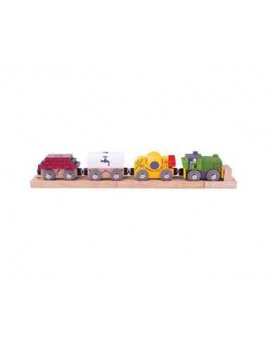 Bigjigs Rail Construction Train