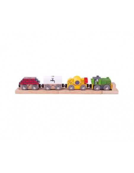 Bigjigs Rail Construction Train Bigjigs Toys
