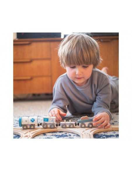 Bigjigs Rail Drilling Train Bigjigs Toys