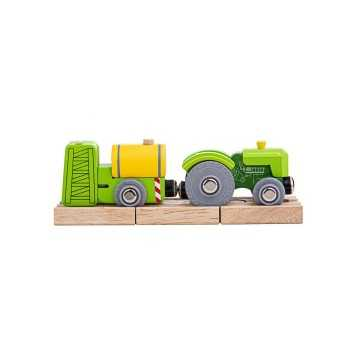 Bigjigs Rail Tractor and...