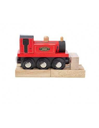 Bigjigs Rail Terrier Loco-Red