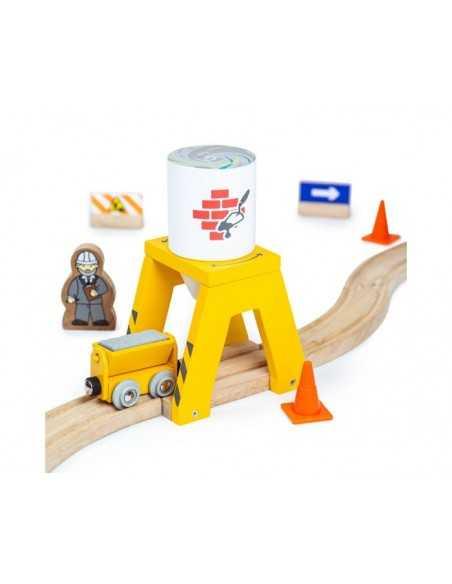 Bigjigs Rail Cement Silo Bigjigs Toys