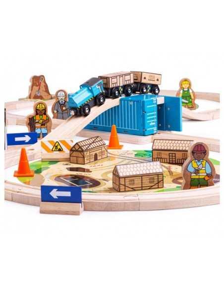 Bigjigs Rail Construction Train Set Bigjigs Toys