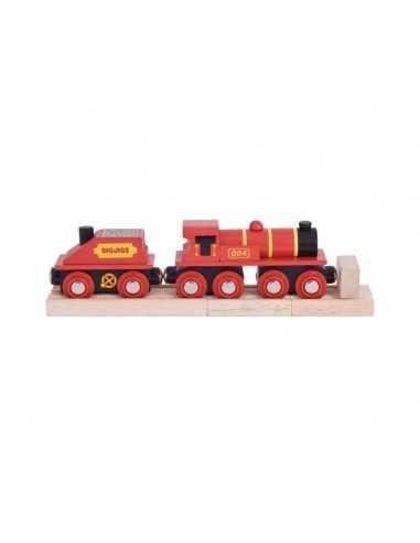 Bigjigs Rail Big Red Engine