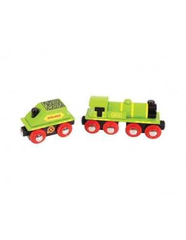 Bigjigs Rail Big Green Engine