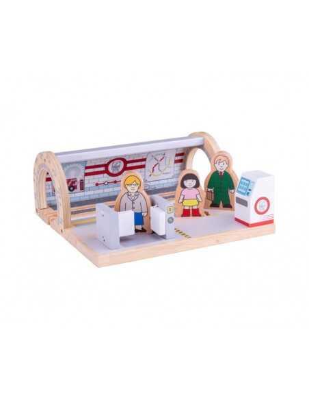 Bigjigs Rail Underground Station Bigjigs Toys