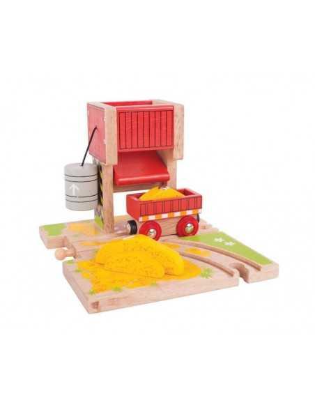 Bigjigs Rail Sand Tower Bigjigs Toys